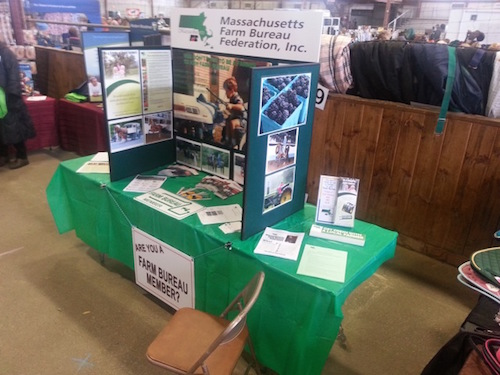 Equine Expo Topsfield booth - view 2