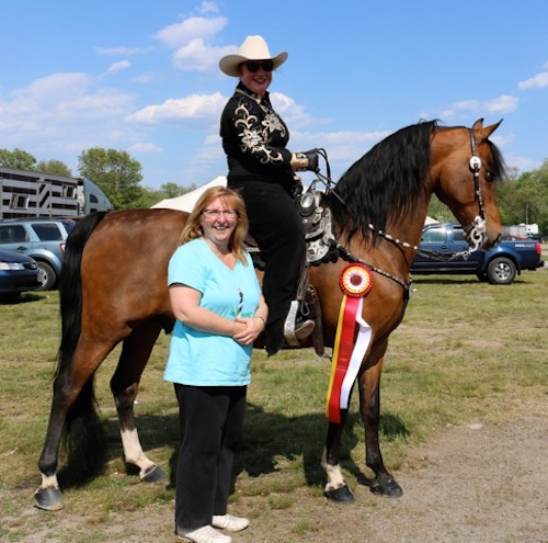 Greater Boston Horse Show 2015 Emily,Felix, Debbie Reserve Champion