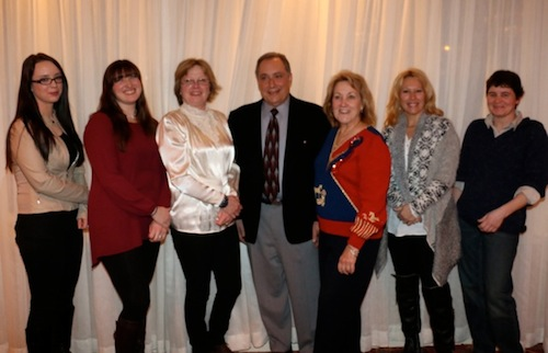 Chrislar Staff at RRDC Awards banquet