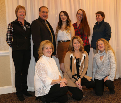 Chrislar staff at Rowley Riding & Driving Club Annual Banquet on Saturday, January 6, 2018