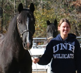 riding instructor:Kristen Anderson at UNH