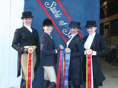 Maine Morgan horse show - Chrislar Champs