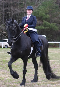 RRDC Spring 2016 Horse Show - Saddleseat Reserve Champion
