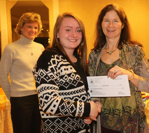 Chrislar's Ashley Jaskela awarded the Pat Tataronis-Orcutt Scholarship