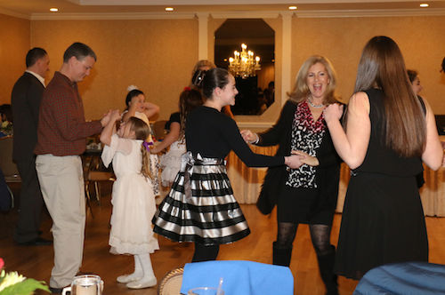 dancing at RRDC Awards banquet