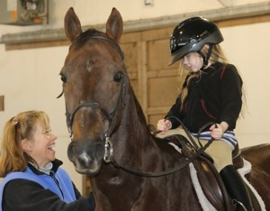 assistant trainer/riding instructor:Cathy Caruccio